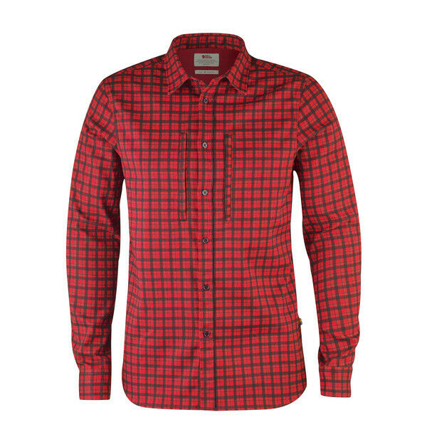 Fjallraven Lappland Flannel Shirt Red Various Sizes (F90830-320)