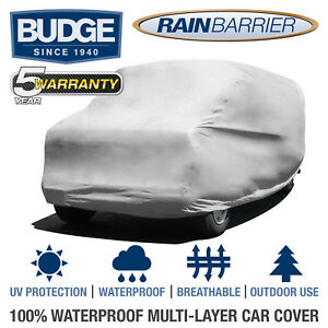 Budge-Rain-Barrier-Van-Cover-Fits-Full-Size-Vans-up-to-19-039-6-034-Long-Waterproof