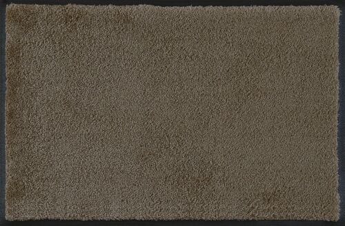 Kleen-Tex Wash dry Monocolour Taupe in 9 sizes available Floor Mat