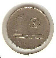 Offer  Malaysia Parliament 1982  10sen  coin high grade!