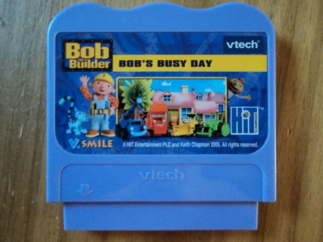 Bob the Builder Bobs Busy Day for Vtech V.Smile - VSmile Console Game