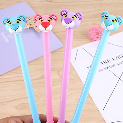 8pcs Cute Cartoon Kawaii Tiger Gel Ink Roller Ball Point Pens School Kids Gifts
