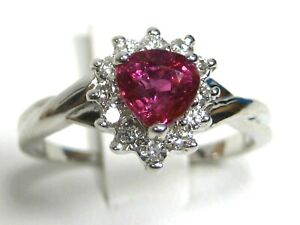 Pink-Sapphire-Ring-18K-white-gold-Halo-GIA-Appraised-Certified-Heirloom-3-982