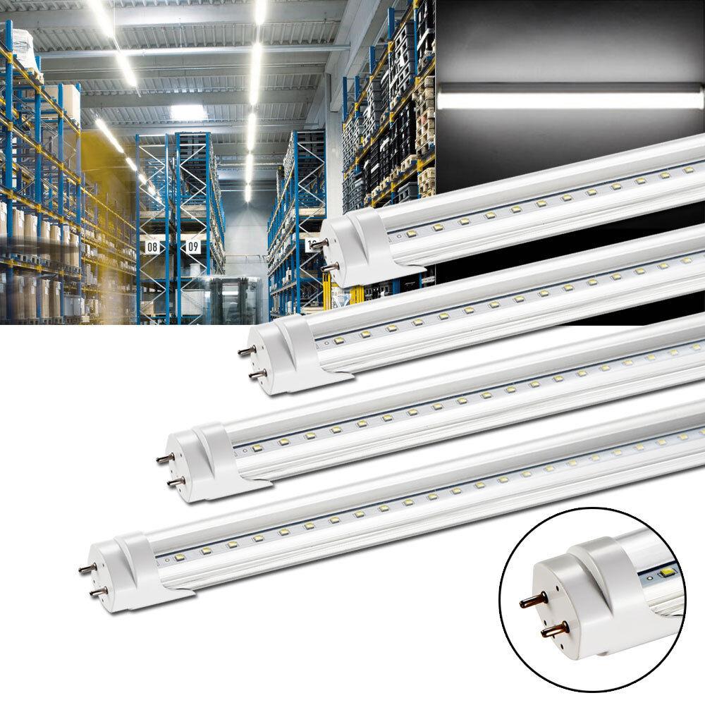 4x 120cm t8 LED tubo fluorescente lámpara fluorescente tubo Tube tubos lámpara blancoo