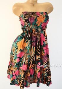 dea7dc46f7 Victoria's Secret VS Smocked Ruffle Strapless Summer Beach Dress ...
