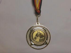 Reiten Pokal Kids 20 x Medaillen Deutschland-Bändern Turnier Emblem Reitsport Pokale & Preise