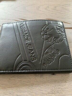 Versace Jeans Portafoglio Carte Astuccio Wallet Bag Cardholder Portafoglio Portafoglio-mostra Il Titolo Originale Con Una Reputazione Da Lungo Tempo
