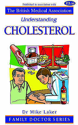 """AS NEW"" Cholesterol (Understanding), Laker, Mike, Book"