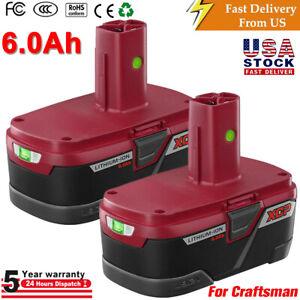 19.2V 6.0AH Li-Ion Battery for Craftsman C3 XCP PP2030 PP2025 11375 130279005 US