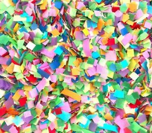 RAINBOW-Biodegradable-Tissue-Paper-Throwing-Table-WEDDING-CONFETTI-Flutter-Fall