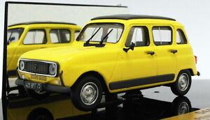 Vitesse-1-43-SCALA-045D-1978-RENAULT-4-GTL-Sole-Tetto-chiuso-Giallo