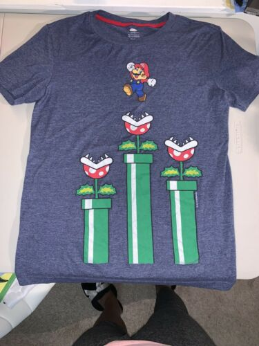 Great Condition Details about  /Boys Large Mario T shirt Old Navy Collectibles Pre-owned