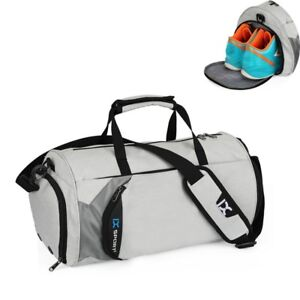 Details About Gym Bags Sports Travel Shoes Pocket Workout Duffle Waterproof Basketball Fitness