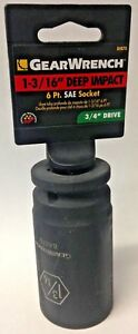 Gearwrench-84870-3-4-034-Drive-6-Point-Deep-Impact-Sae-Socket-1-3-16-034