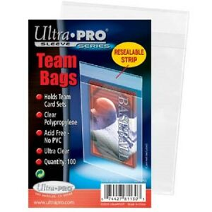 1000-1-000-Resealable-Sports-Card-Team-Set-Bags-Ultra-Pro-FREE-SHIPPING
