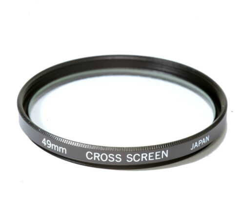 49mm High Quality Glass Kood Star 4 Filter Made in Japan 4 Point 4PT