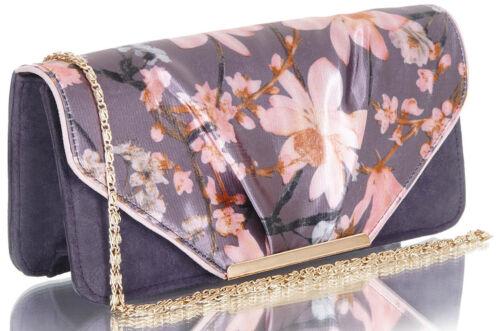 Ruby Shoo BOLOGNA Vintage BLUMEN Glamour FLORAL Retro CLUTCH Tasche Rockabilly