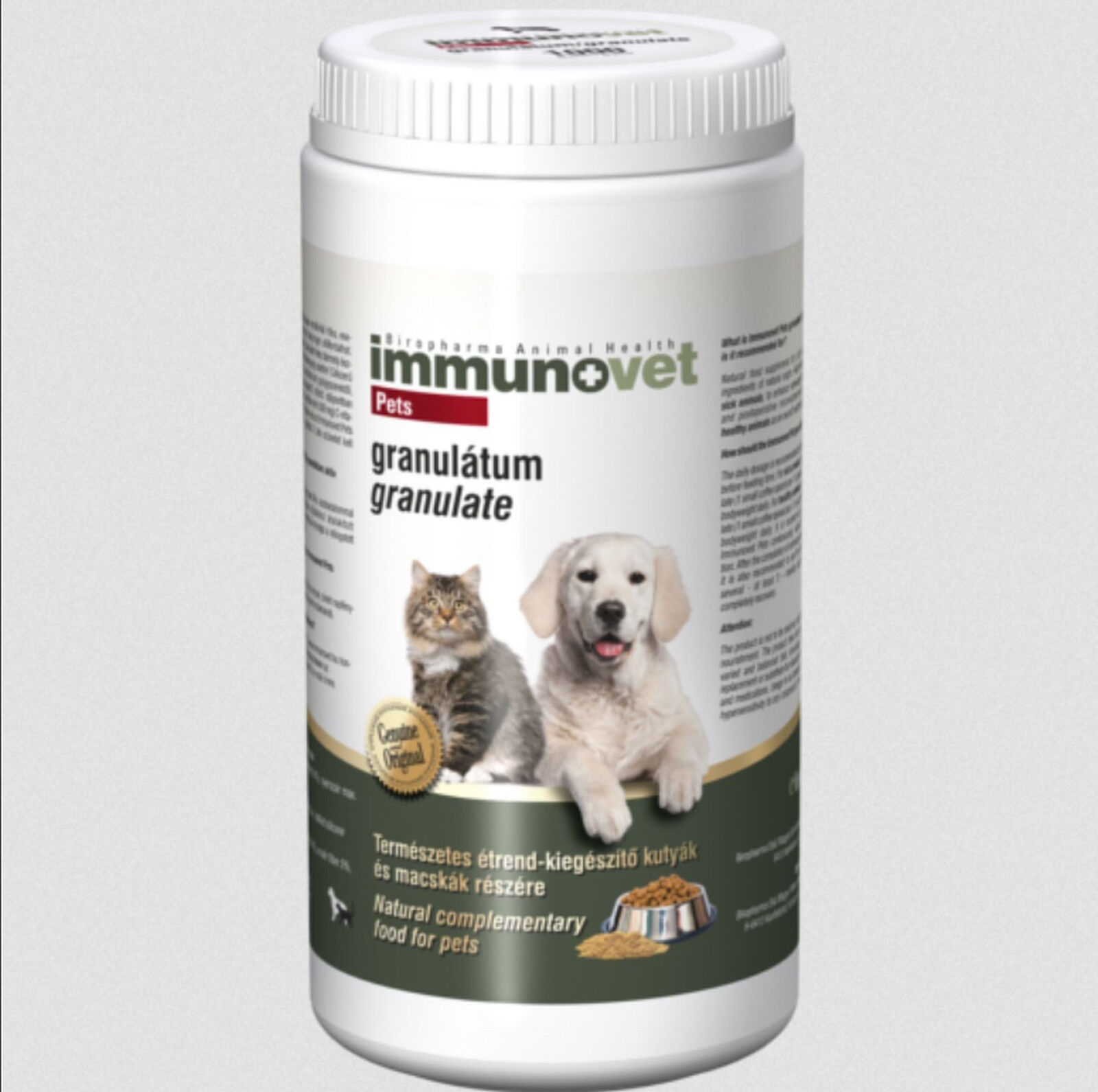 IMMUNOVET Powder for Cats and Dogs Granulate 1 kg - Fermented Wheat Germ Extract