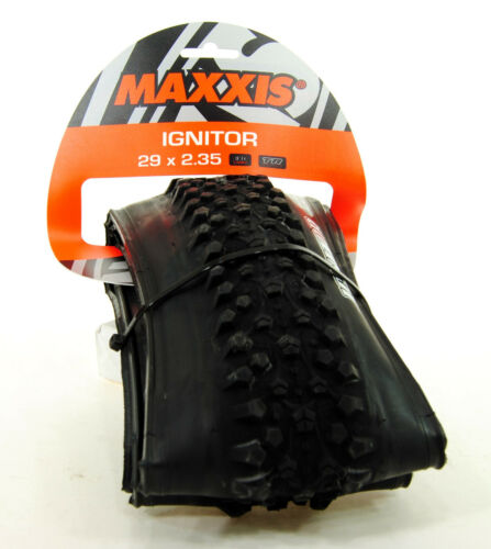 Maxxis Ignitor 29x2.10 Tire Folding 60tpi Single Compound Tubeless Ready EXO
