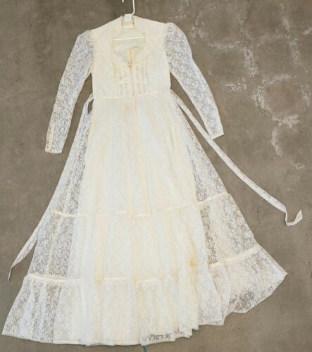 vintage gunne sax wedding dress - image 1