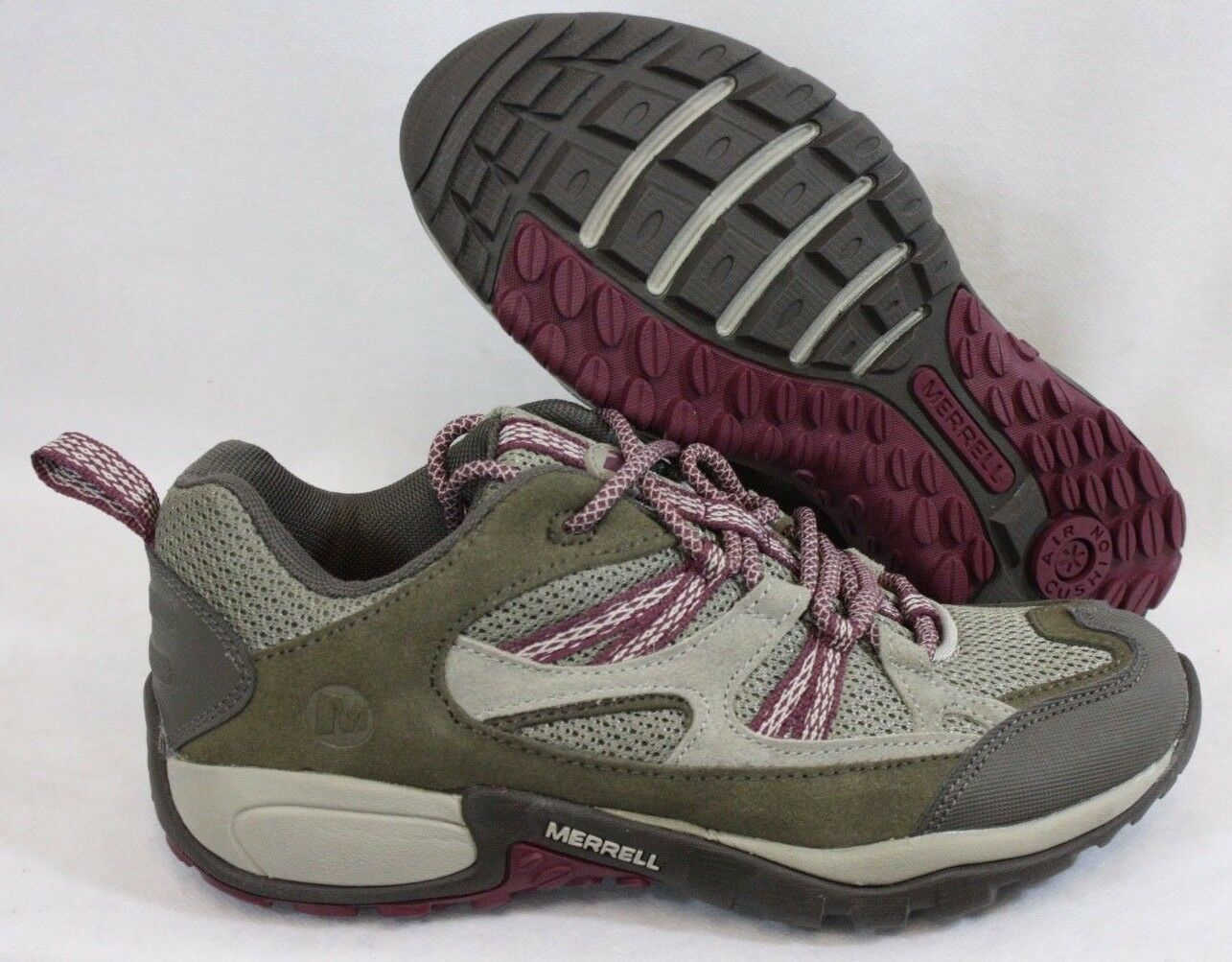 NEU Damenschuhe MERRELL Soren Sport J169604C Tan Rose Purple Outdoor Sneakers Schuhes
