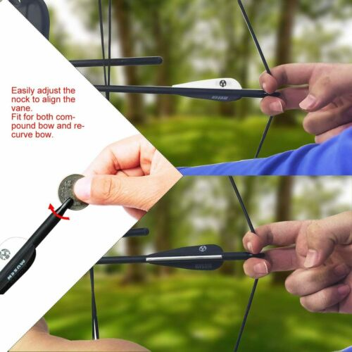 Details about  /6//12Pcs 30 Inch Carbon Arrows OD 7.8mm Archery For Compound//Recurve Bow Hunting