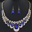 Fashion-Women-Crystal-Chunky-Pendant-Statement-Choker-Bib-Necklace-Jewelry-Chain thumbnail 134