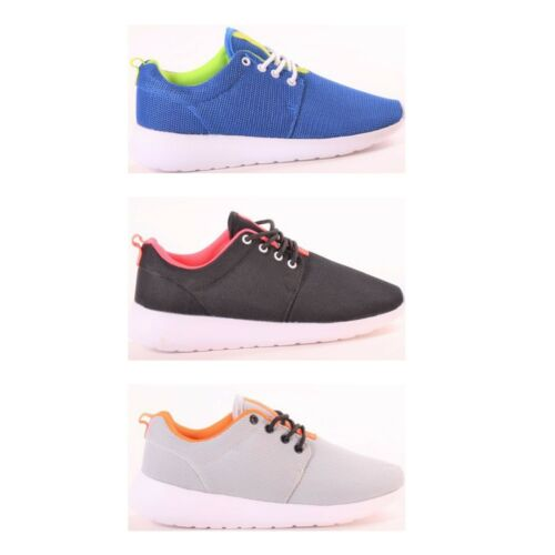 Womens Ladies Sports Running Trainers Fitness Gym Lace up Sneakers Shoes Size