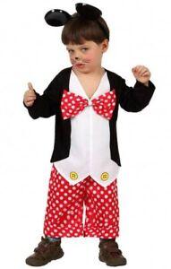 Déguisement Bébé Garçon Souris 1/2 Ans Enfant Mickey Dessin Animé Neuf Pas Cher 4suymrro-07164509-671904197