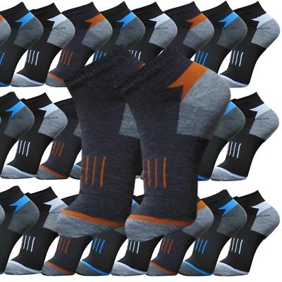 24 Paar Socken Herren Socken Damen Sport Freizeit Kurz 39-42