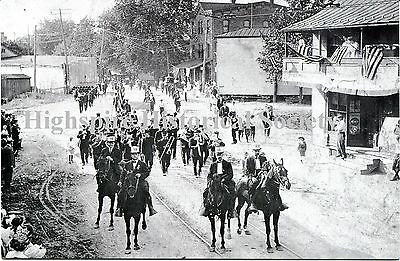 Highspire Historical Postcard 4th of July Parade 1910