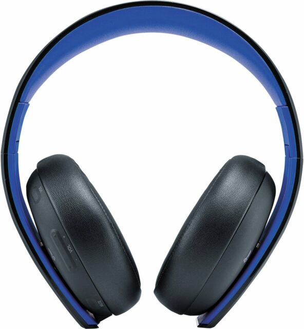 Sony Playstation Gold Wireless Stereo Headset For Ps3 Ps4 Ps Vita For Sale Online Ebay