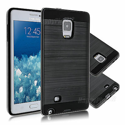 Rugged Hybrid Rubber TPU Protective Case Cover Skin For Samsung Galaxy Note Edge