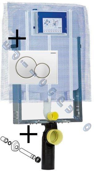 Cassetta scarico completa per sanitari water bagno sospesi Combifix Geberit