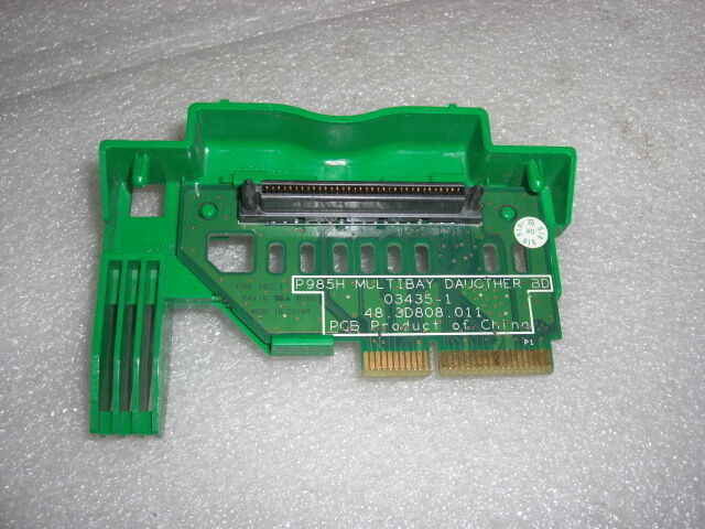 HP DC 7100 378833-001 P985H 03435-1 48.3D808.011 Riser Backplane Board TESTED