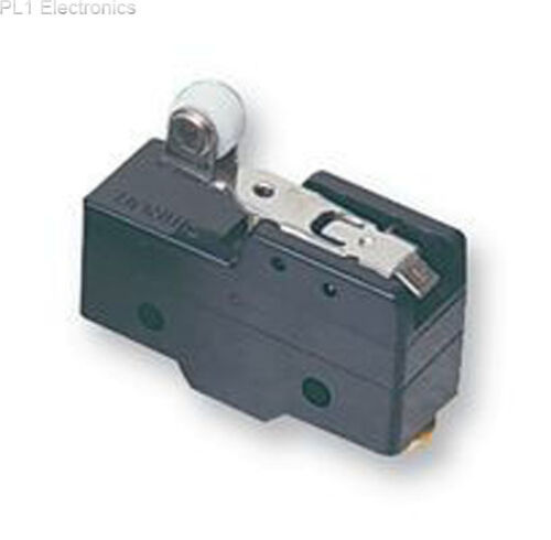 Z-15GW22B OMRON INDUSTRIAL AUTOMATION SPDT ROLLER LEVER 15A MICROSWITCH