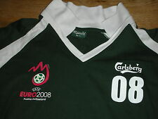 uefa AUSTRIA SWITZERLAND carlsberg EURO 2008 POLO de FOOTBALL foot soccer SHIRT