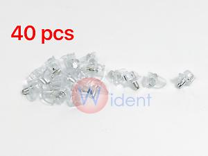 "40 Pcs 3//16/"" Clear Plastic Shelf Support Pin Peg Cabinet Book Shelves"