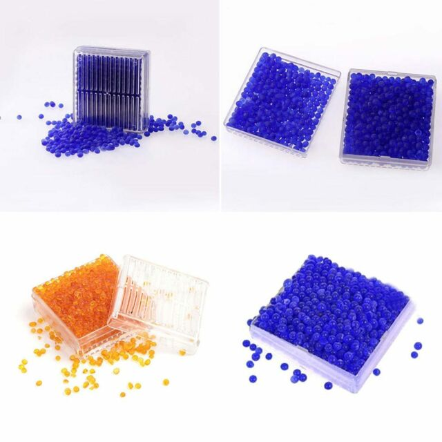 Silica Gel Desiccant Humidity Moisture Absorb Dry Box Reusable Storage Pro New.