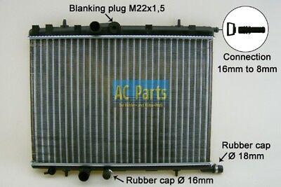 Wasserkühler Kühler PEUGEOT 206 /& CC /& SW PARTNER