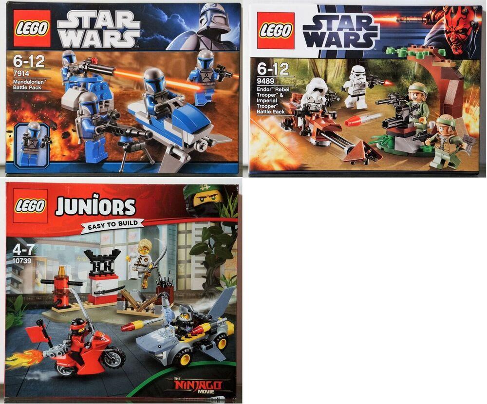 #04 Lego Jeux Neuf Dans Sa Boîte-choisir: 10739, 9489,7914