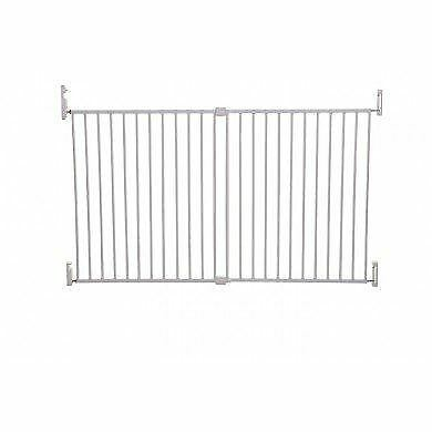 Dreambaby Extra Wide Broadway Gro-Gate Screw Fit Baby Safety Barrier
