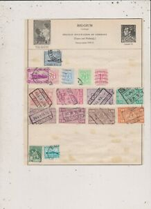 Belgium Stamps Hinged Lot 41 Ebay