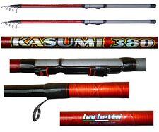 kit 2 canne kasumi 3.80m 50/100g carbonio pesca bombarda e galleggianti pesanti