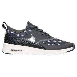 New Nike Women s Air Max Thea Print Shoes (599408-008) Black Dark ... dd35fb82d