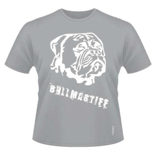 Ladies /& Men/'s sizes Bullmastiff Face Round-Neck Dog Breed T-Shirts