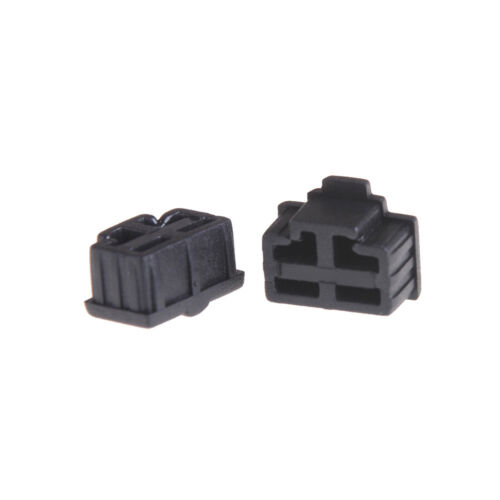 10Pcs Black Ethernet Hub Port RJ45 Anti Dust Cover Cap Protector Plug Fad  TSYT