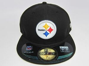 725cad455 New Era PITTSBURGH STEELERS NFL OFFICIAL ON-FIELD 59FIFTY Fitted Cap ...