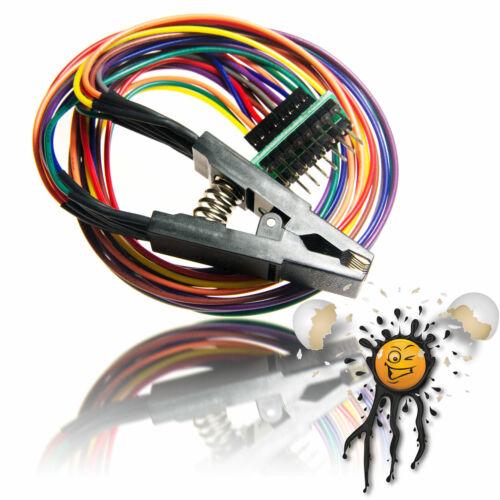 SOIC16 SOP16 SSOP16 TSSOP16 to DIP16 BIOS SPI Flash AVR Programmer Clip Adapter
