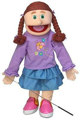 """25"""" PRO PUPPETS / FULL BODY GIRL PUPPET , AMY"""